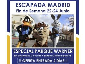 ESCAPADA AL PARQUE WARNER (MADRID)